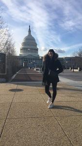 Felice zu Besuch in Washington D.C.